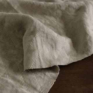 リネンジャガード織 ヘリンボーン L602-20