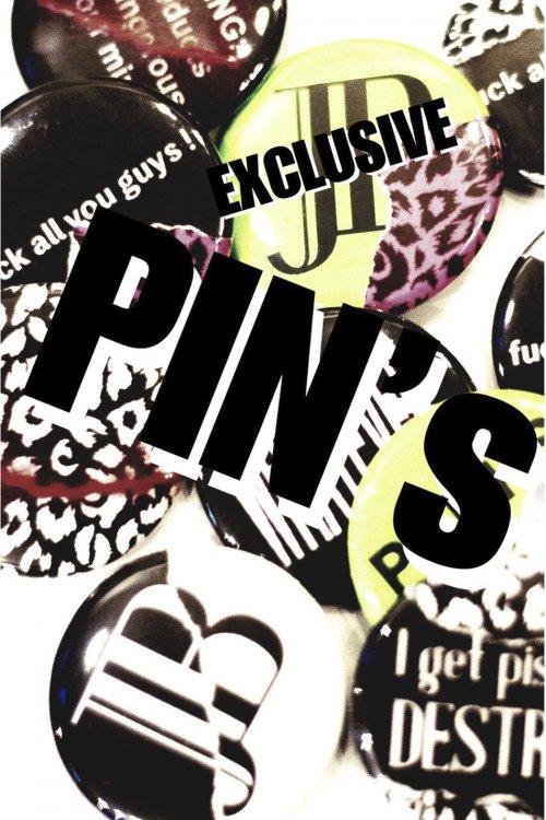 exclusive PinBack Button 10 pieces set