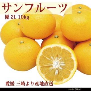 サンフルーツ 優 2L 10kg 愛媛 三崎 西宇和 贈答 ギフト  一部地域送料無料