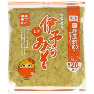 ギノーみそ 伊予のみそ つぶ 600g 1個 粒みそタイプ 甘い麦みそ ギノー