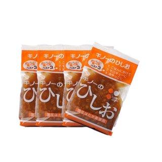 ひしお 150g 4個 はだか麦と小麦と炒り大豆で麹を造りしょうゆに漬込み熟成 ギノー 愛媛