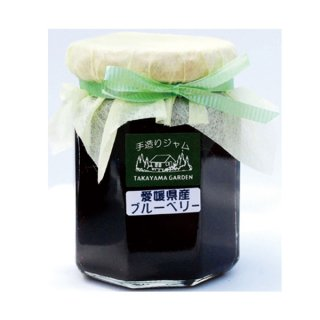 高山ガーデン ブルーベリージャム 140g 2個 国産 愛媛県産