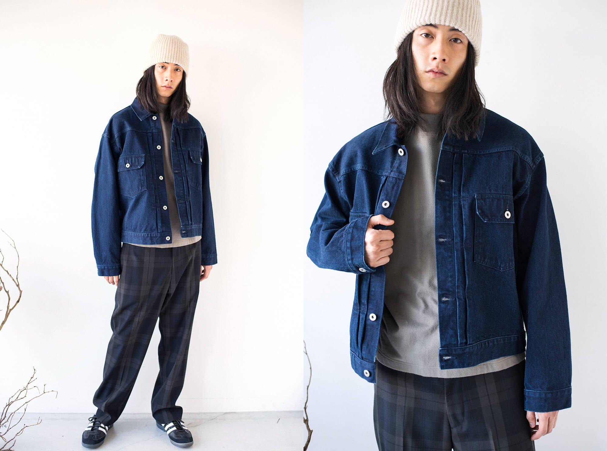 14oz organic cotton denim jacket