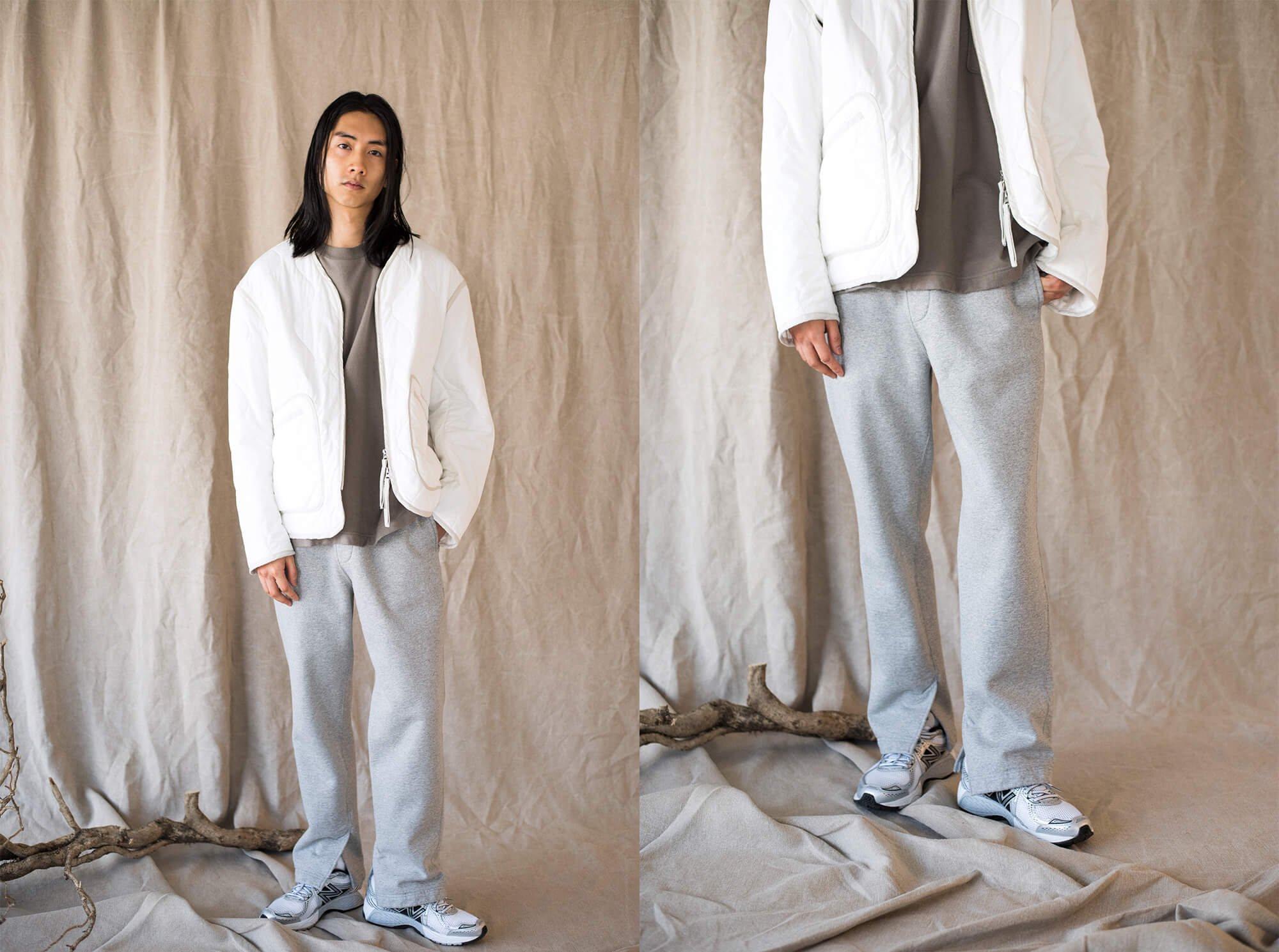 vintage cotton-fleece sweat pants