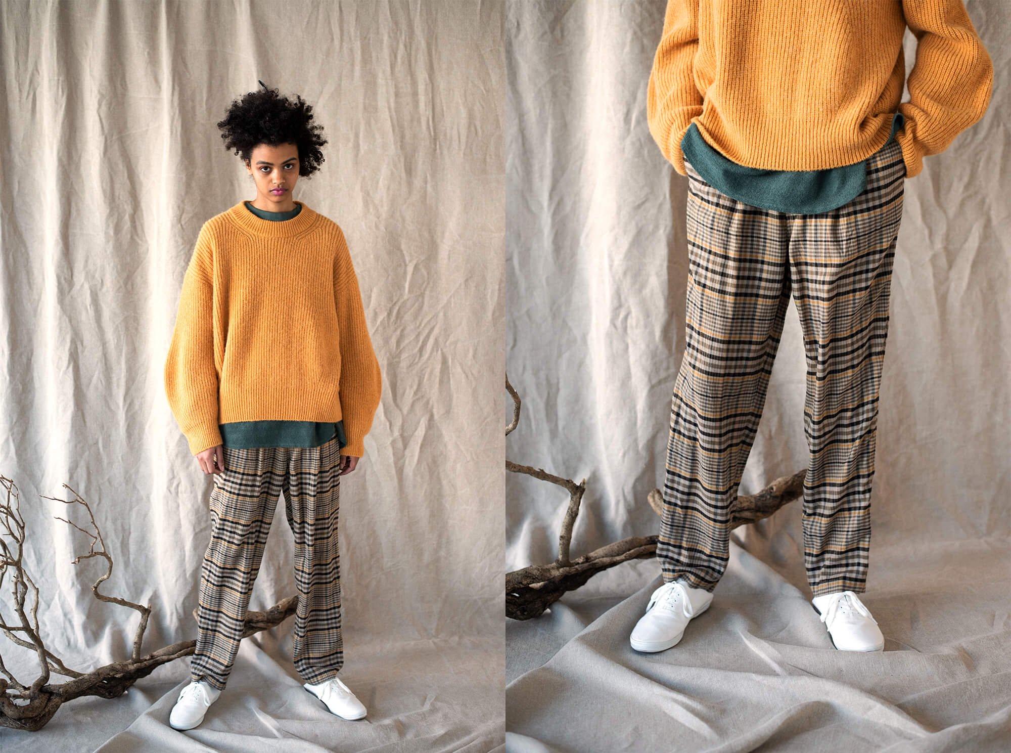 silk-flannel trousers