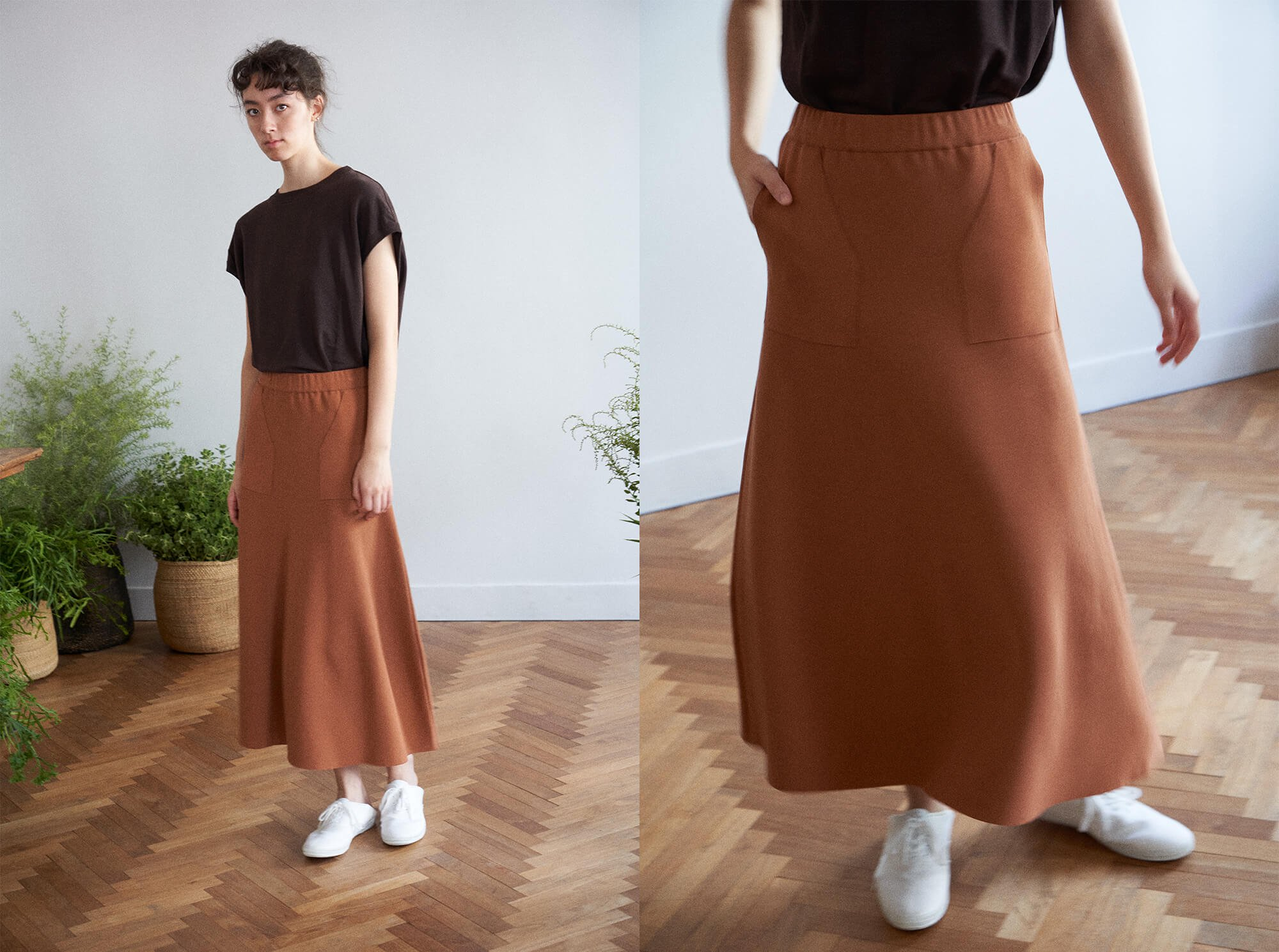 <img class='new_mark_img1' src='https://img.shop-pro.jp/img/new/icons14.gif' style='border:none;display:inline;margin:0px;padding:0px;width:auto;' />high twist cotton smooth-knit skirt