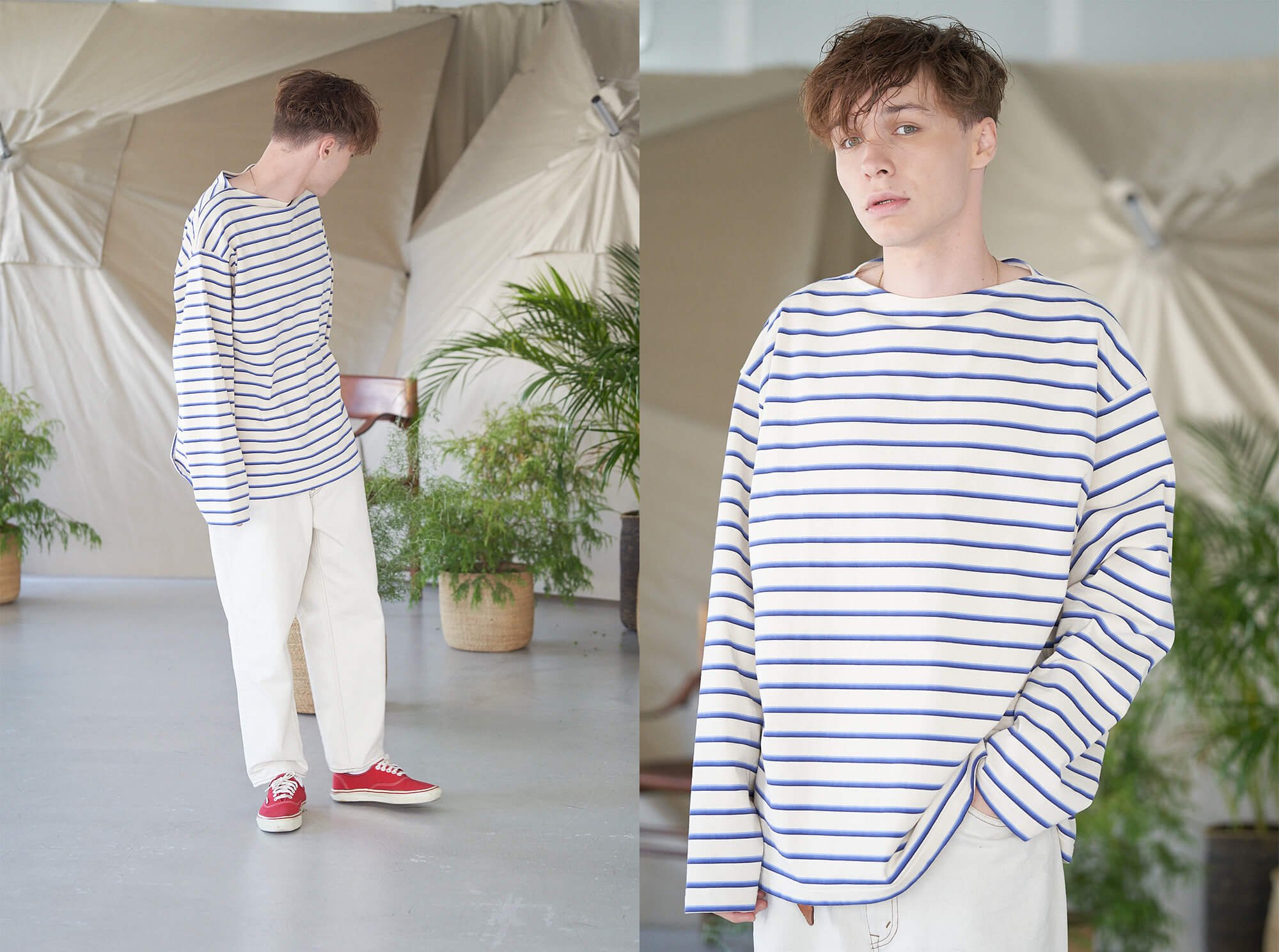 <img class='new_mark_img1' src='https://img.shop-pro.jp/img/new/icons14.gif' style='border:none;display:inline;margin:0px;padding:0px;width:auto;' />vintage cotton jersey breton shirt