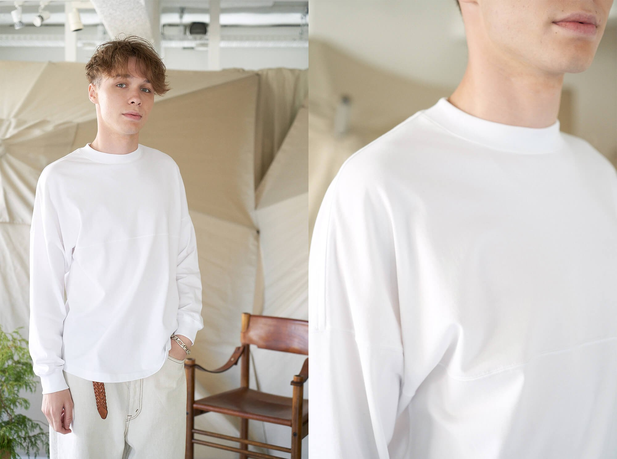 <img class='new_mark_img1' src='https://img.shop-pro.jp/img/new/icons14.gif' style='border:none;display:inline;margin:0px;padding:0px;width:auto;' />organic cotton long sleeve Tee