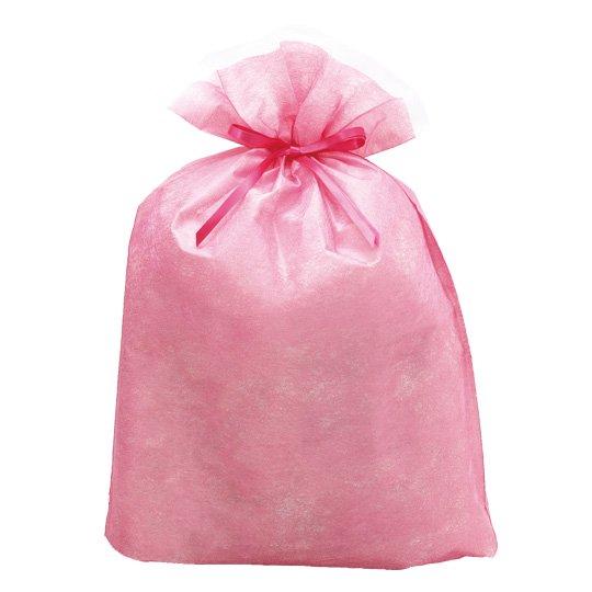 ギフトバッグ ピンク シンテックス LLサイズ