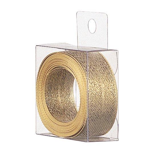 リボン ゴールド カットメタル
