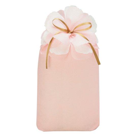 ギフトバッグ 花 ソフトピンク ブルーミング