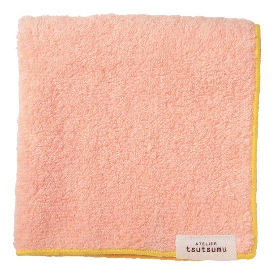 ハンドタオル ピンク ふわわ