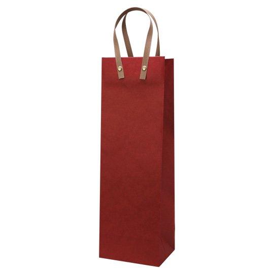 紙袋 レッド ワインハ−ディバッグ