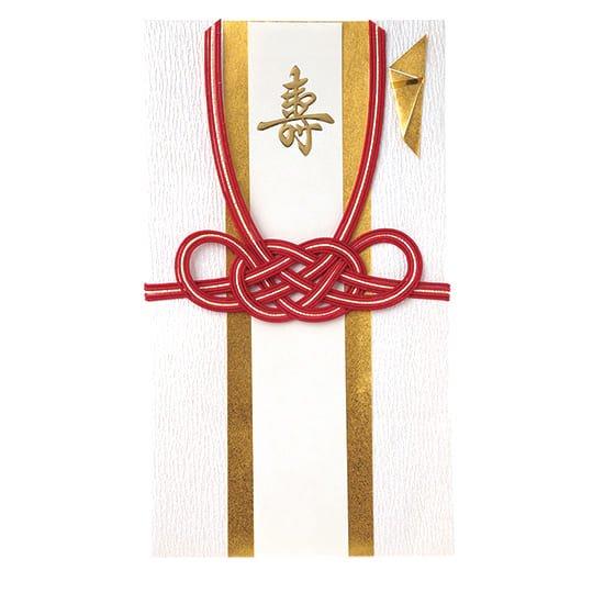 祝儀袋 紅白 福極 月白(ふくきわみ げっぱく)