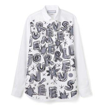 """Men's BDシャツ<br>""""Une très Merveilleusejournée"""""""