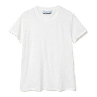 スラブ天竺Tシャツ<br>(ホワイト)