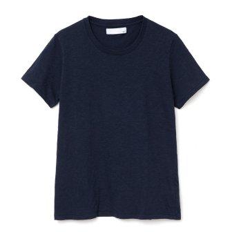 スラブ天竺Tシャツ<br> (ネイビー)