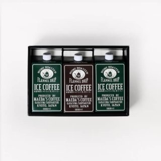 【ギフト対応可 選べる無糖・加糖】  アイスコーヒー1L 3本セット