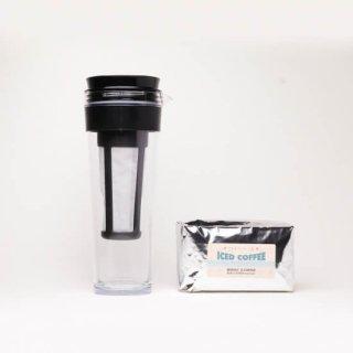 アイスコーヒー豆と  水だしアイスコーヒーボトルセット