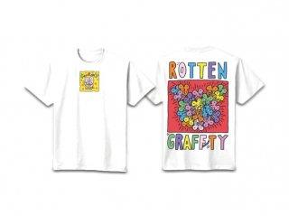 ROTTENGRAFFTY 招鼠Tシャツ【RO1163WH】