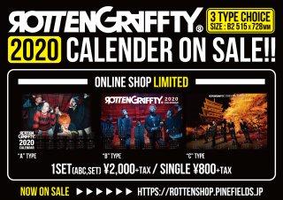ROTTENGRAFFTY 2020ポスターカレンダー