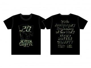 ROTTENGRAFFTY 20th TOUR T-shirt season 2【RO1166BK】
