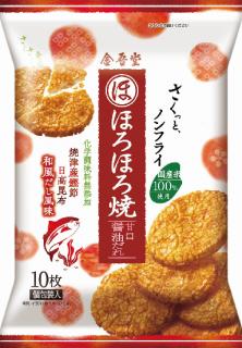 金吾堂製菓 <br>ほろほろ焼-甘口醤油だれ