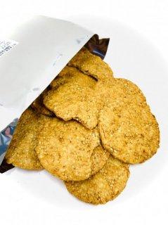 金吾堂製菓 <br>白ごま玄米こわれ たまり醤油味<br>1袋200g×20袋入