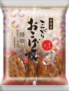 金吾堂製菓 <br>こんがりおこげ焼 醤油<br>(旧:おこげせん醤油)