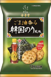 金吾堂 <br>【期間限定!】ごま油香る韓国のり風味
