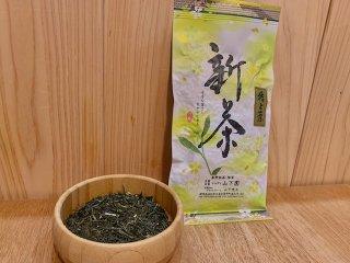 《新茶》 令和3年度産 無農薬 特上茶100g袋入り【浅蒸し茶】