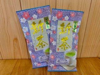 《新茶》 無農薬 八十八夜の茶100g袋入り【浅蒸し茶】