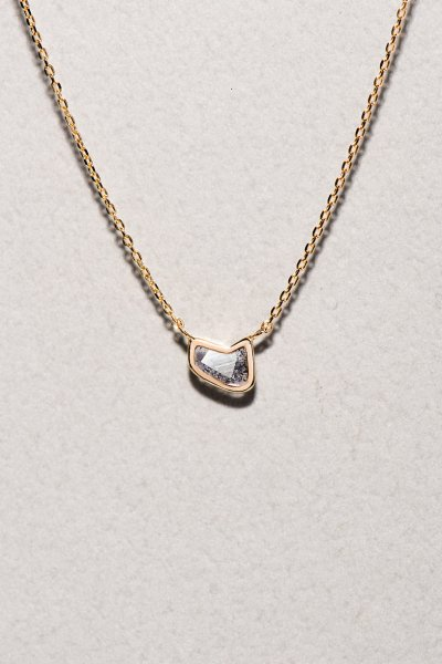 NR64 / Slice Diamond Necklace(relay)