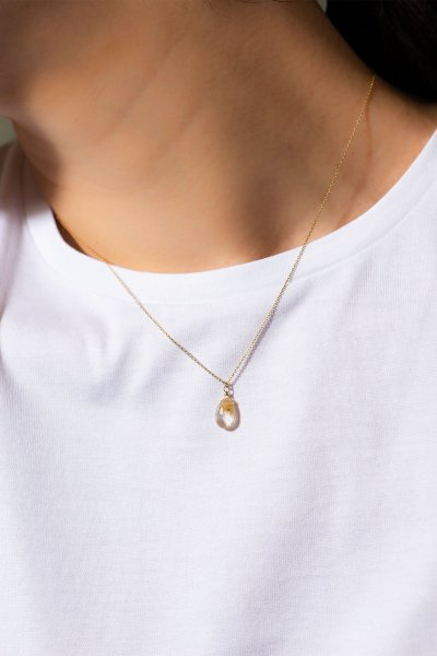 <img class='new_mark_img1' src='https://img.shop-pro.jp/img/new/icons2.gif' style='border:none;display:inline;margin:0px;padding:0px;width:auto;' />NR70 / Rutile Quartz Necklace