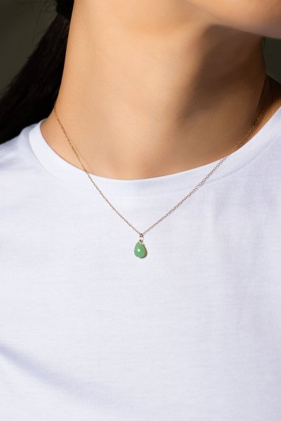 <img class='new_mark_img1' src='https://img.shop-pro.jp/img/new/icons2.gif' style='border:none;display:inline;margin:0px;padding:0px;width:auto;' />NR75 / Chrysoprase Necklace