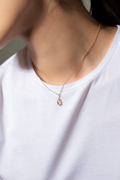 <img class='new_mark_img1' src='https://img.shop-pro.jp/img/new/icons2.gif' style='border:none;display:inline;margin:0px;padding:0px;width:auto;' />NR76 / Rutile Quartz Necklace