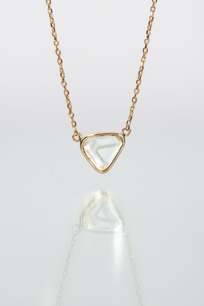 <img class='new_mark_img1' src='https://img.shop-pro.jp/img/new/icons2.gif' style='border:none;display:inline;margin:0px;padding:0px;width:auto;' />NR83 / Slice Diamond Necklace(relay)