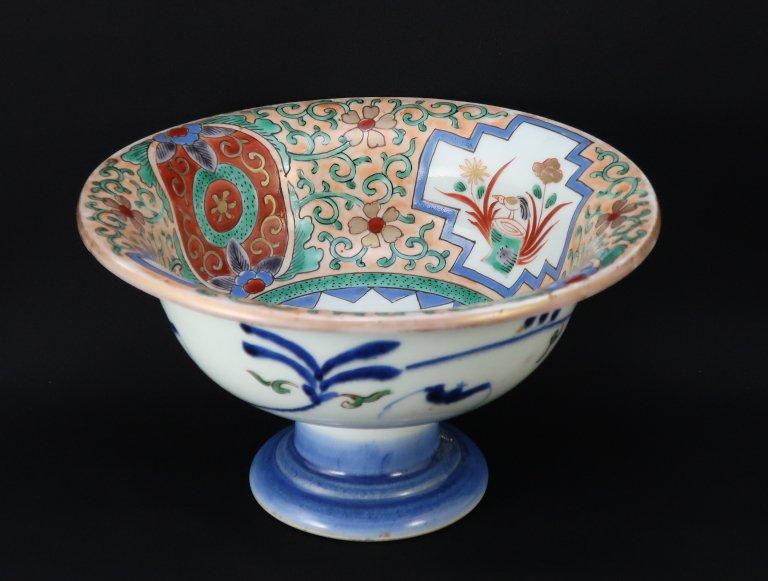 伊万里色絵盃洗 / Imari Polychrome 'Haisen' Sake Cup Washing Bowl