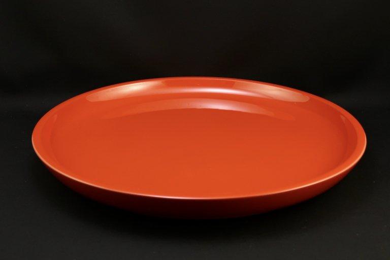 朱塗盆 / Large Red-lacquered Tray