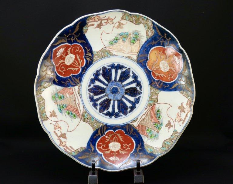 伊万里色絵尺皿 / ImariLarge Polychrome Plate