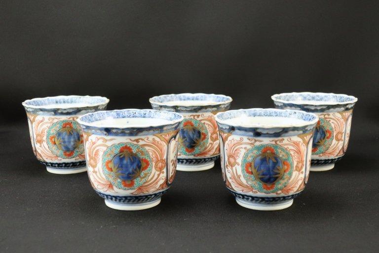 伊万里色絵向付 五客組 / Imari Polychrome 'Mukouduke' Cups  set of 5