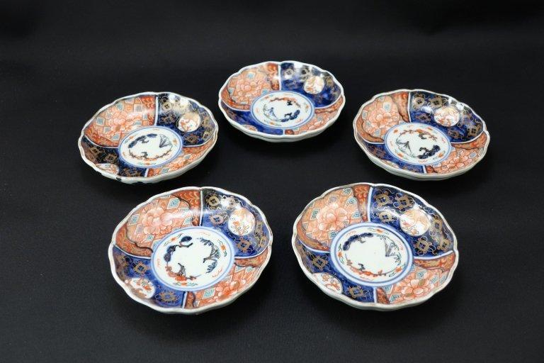 伊万里色絵四寸皿 五枚組 / Imari Small Polychrome Plates  set of 5