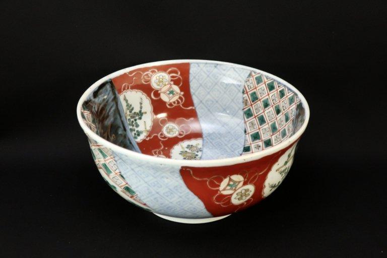 伊万里色絵中鉢 / Imari Large Polychrome Bowl(S)