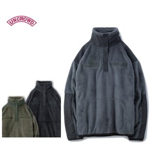 UNCROWD アンクラウド  UC-503-019 MILITARY FLEECE PULLOVER