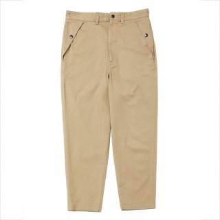 <img class='new_mark_img1' src='https://img.shop-pro.jp/img/new/icons5.gif' style='border:none;display:inline;margin:0px;padding:0px;width:auto;' />PORKCHOP GARAGE SUPPLY LOOSE FIT CHINO PANTS/BEIGE