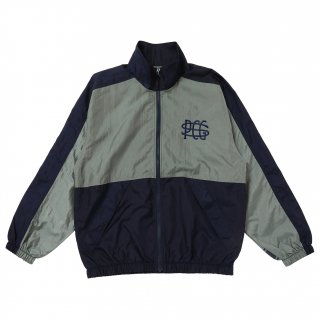 <img class='new_mark_img1' src='https://img.shop-pro.jp/img/new/icons1.gif' style='border:none;display:inline;margin:0px;padding:0px;width:auto;' />PORKCHOP GARAGE SUPPLY TRACK JKT/NAVY×GRAY