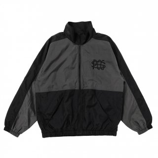 <img class='new_mark_img1' src='https://img.shop-pro.jp/img/new/icons1.gif' style='border:none;display:inline;margin:0px;padding:0px;width:auto;' />PORKCHOP GARAGE SUPPLY TRACK JKT/BLACK×CHARCOAL