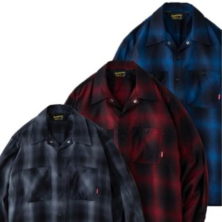 <img class='new_mark_img1' src='https://img.shop-pro.jp/img/new/icons5.gif' style='border:none;display:inline;margin:0px;padding:0px;width:auto;' />BLUCO OMBRE WORK SHIRTS L/S /3Color