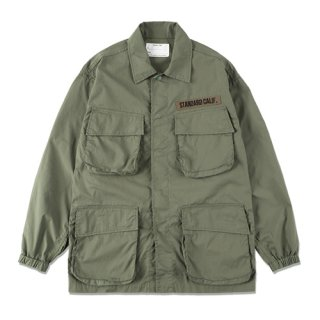 <img class='new_mark_img1' src='https://img.shop-pro.jp/img/new/icons5.gif' style='border:none;display:inline;margin:0px;padding:0px;width:auto;' />STANDARD CALIFORNIA SD Coolmax Stretch Ripstop Jungle Fatigue Jacket