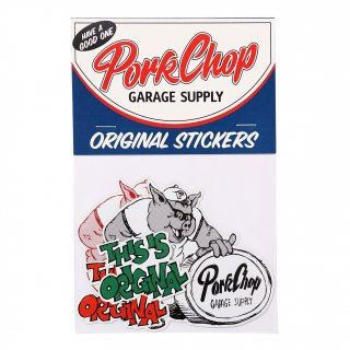 <img class='new_mark_img1' src='https://img.shop-pro.jp/img/new/icons5.gif' style='border:none;display:inline;margin:0px;padding:0px;width:auto;' />PORKCHOP GARAGE SUPPLY THIS IS ORIGINAL STICKER SET